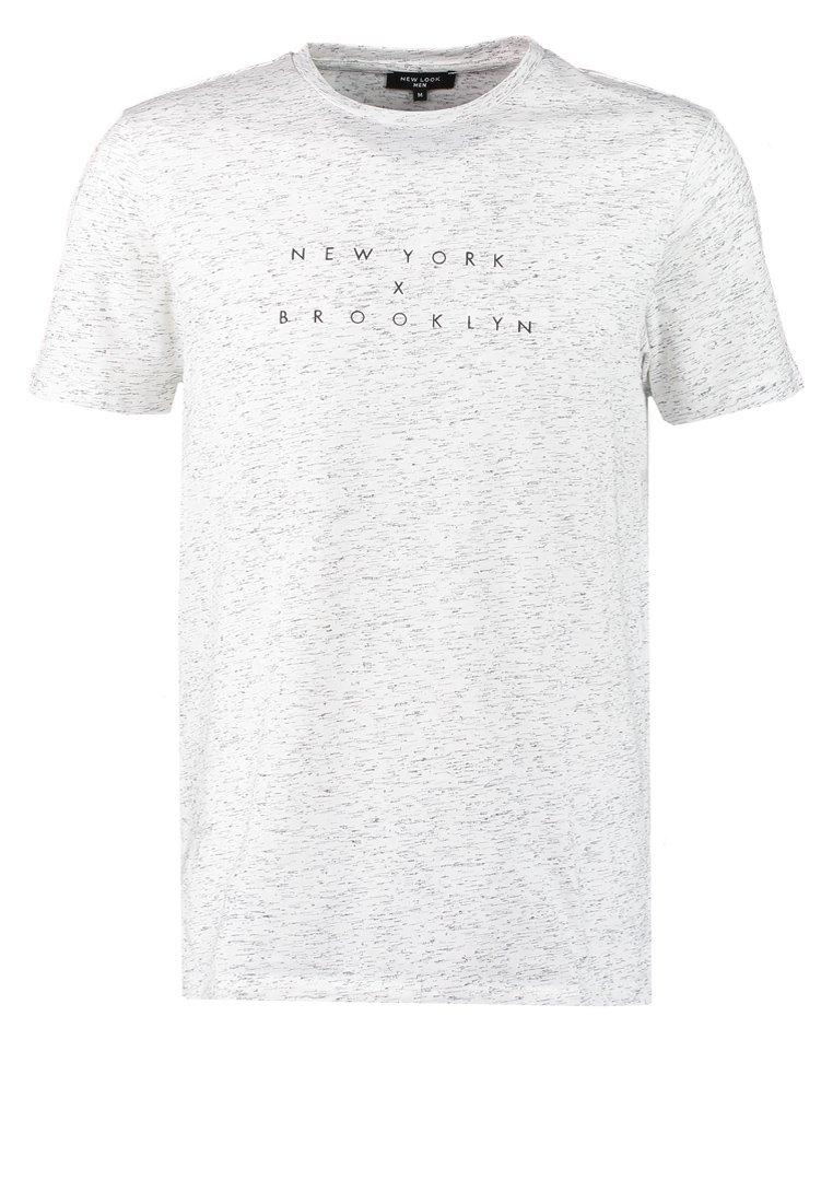 New Look NY CHEST  Camiseta print white