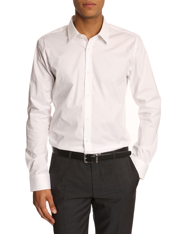 Hugo - Hugo Boss, Elisha White Stretch Shirt