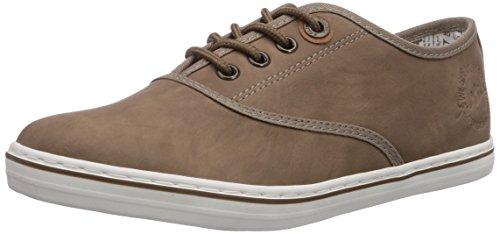 s.Oliver 23601 - zapatos con cordones de lona mujer, color marrón, talla 40