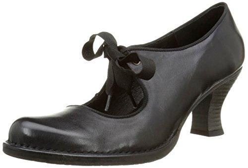 Neosens Rococo 859 - Zapatos de Talón Abierto, Mujer, Negro (Ebony), 42