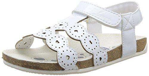 Chicco Helvira - Sandalias deportivas de material sintético para niña Blanco Blanc (300) 32