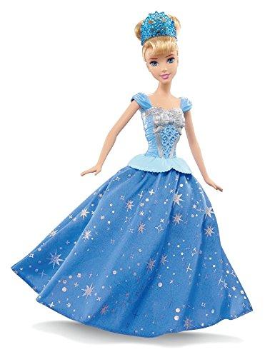 Princesas Disney - Muñeca Cenicienta con falda giratoria (Mattel CHG56)
