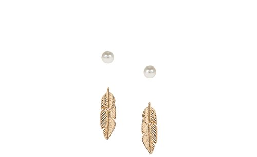 2c34d04395f3 Parfois - Mujer - Set Pendientes Golden Delicates - Dorado ...