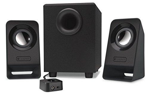 Logitech Z213 - Altavoces multimedia 2.1, color negro