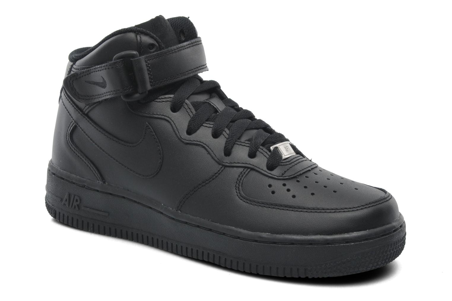 Wmns Air Force 1 Mid '07 Le by Nike Negro