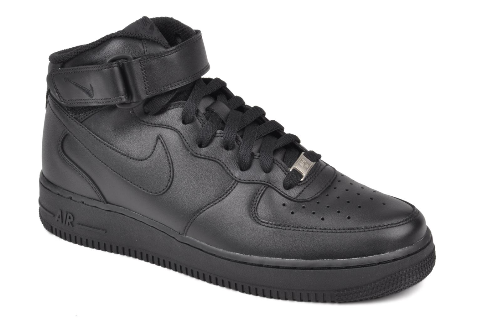 Air Force 1 Mid by Nike Negro