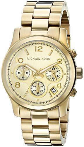 3859cb700c4d Michael Kors MK5055 - Reloj de cuarzo con correa de acero inoxidable para  mujer