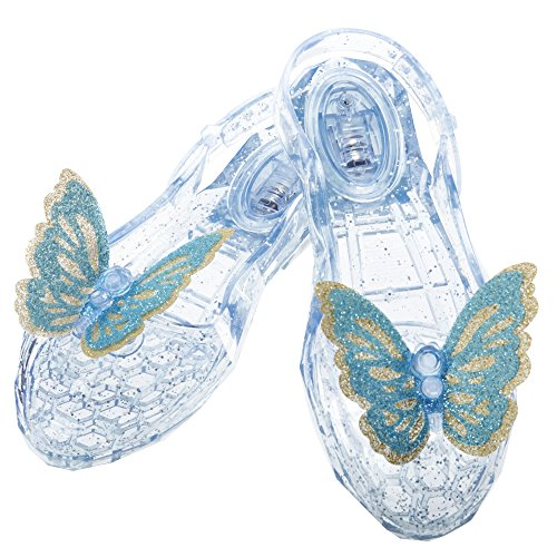 Princesas Disney - Zapatos para disfraz infantil Cenicienta (82057-EU)
