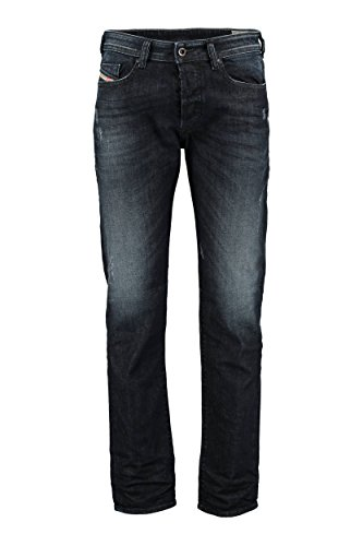 Jean slim bleu 3D washed used Buster pour homme -