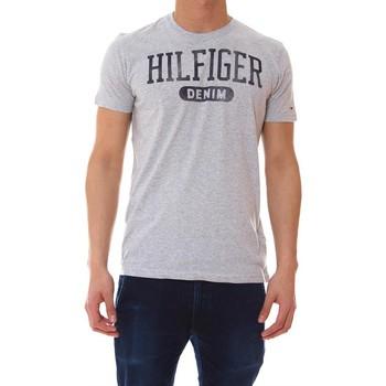 Camiseta Tommy Hilfiger Camiseta Gris BASIC LOGO