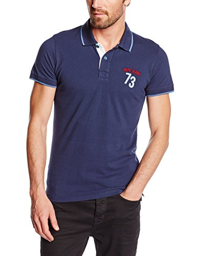 Pepe Jeans PAUL-Polo Hombre,    Azul L