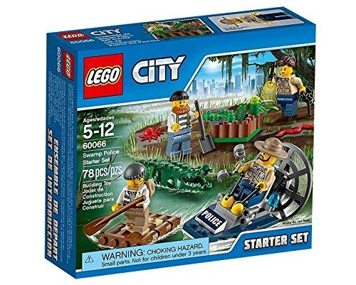 LEGO City - Set de introducción policía del pantano (60066)