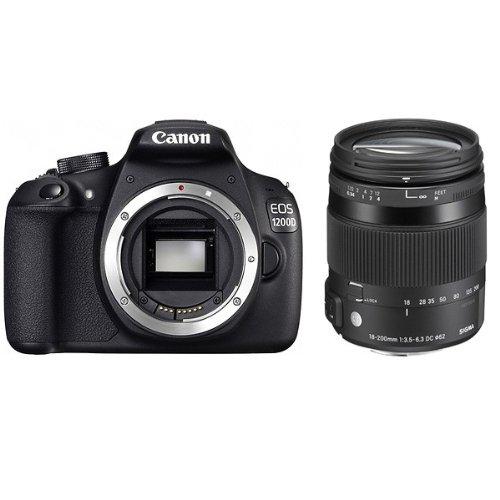 CANON EOS 1200D + SIGMA 18-200 OS Contemporary
