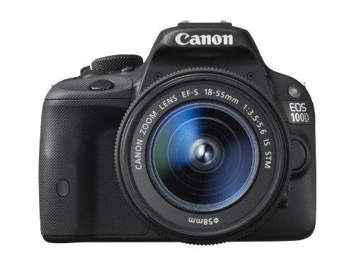 Canon EOS 100D + EF-S 18-55mm + EF 40mm - Cámara digital (Auto, Nublado, Modos personalizados, Luz de día, Flash, Fluorescente, Sombra, Tungsteno, Luz de una vela, Niños, Acercamiento (macro), Paisaje, Retrato nocturno, Retrato, Deportes, Prioridad de ape