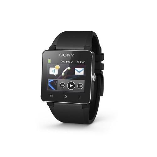 Pulsera de silicona Sony SmartWatch 2 para los teléfonos Android (negro)