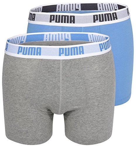 Puma Basic Boxer 2P - Calcetines para hombre, color rosa, talla 39-42
