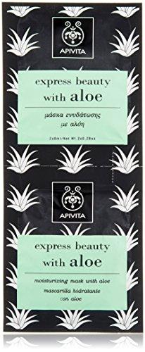 Apivita Mascarilla Hidratante Con Aloe 2x8ml