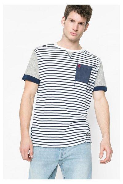 Desigual - Hombre - Camiseta marinera para hombre - Marte - Size S