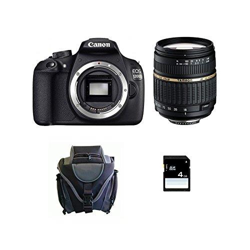 CANON EOS 1200D + TAMRON 18-200 DI + acabado + Carte SD 4Go