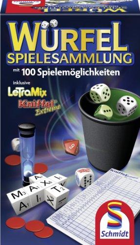 Schmidt Spiele 49163 - Juego de tablero (Negro, 11,5 cm, 7 cm, 185 cm)