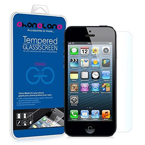 Film Protector pantalla de cristal templado Premium para Apple iPhone 5 / 5S