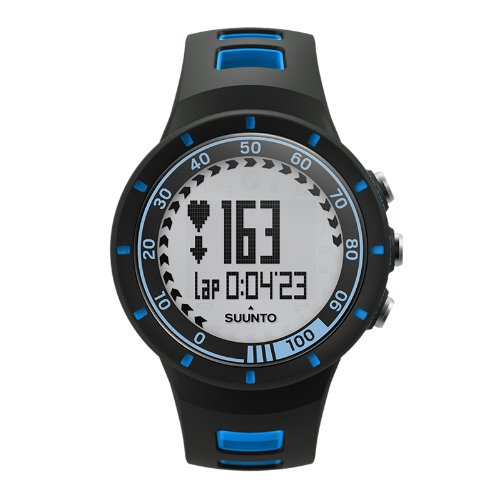 Suunto Quest Blue - Reloj deportivo (Dot-matrix, 42,7 x 42,7 x 13,2 mm, 40g, Negro, Azul, Incorporado, -20 - 60 °C)