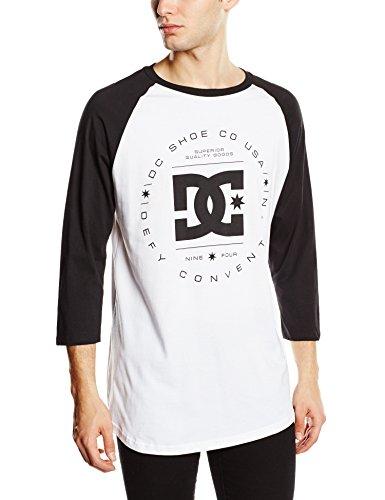 DC Rebuilt Raglan-camiseta Hombre
