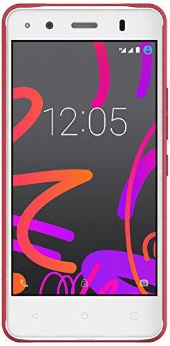 BQ Candy - Funda para Aquaris M4.5, color rojo