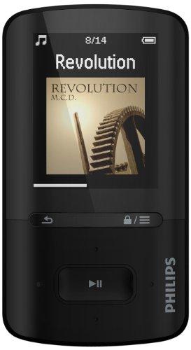 Philips SA4VBE08KF/12 - Reproductor de MP4 (8 GB, pantalla de 1,8