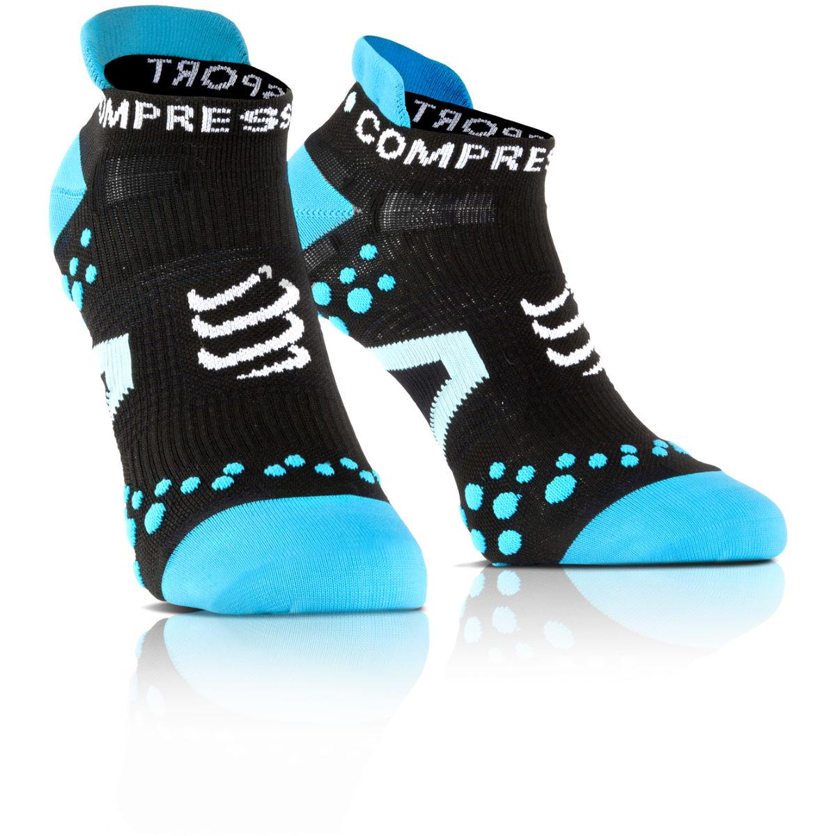 Calcetines tobilleros Compressport Pro Racing v2.1  - Calcetines para correr