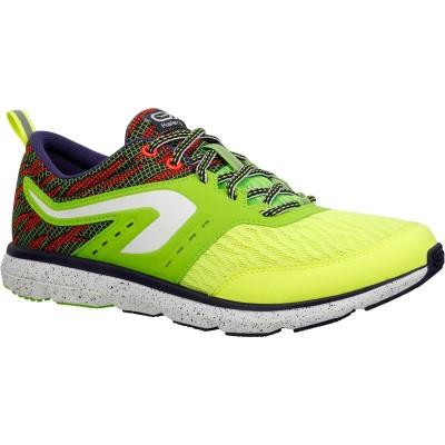 zapatillas de running hombre kalenji ELIORUN HOMBRE Amarillo Verde