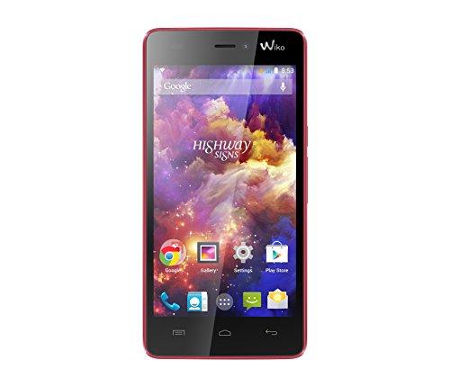 Wiko HIGHWAY Signs Coral - Smartphone (SIM doble, Android, MicroSIM + NanoSIM, EDGE, GPRS, GSM, HSDPA, HSPA+, HSUPA, WCDMA, Barra)