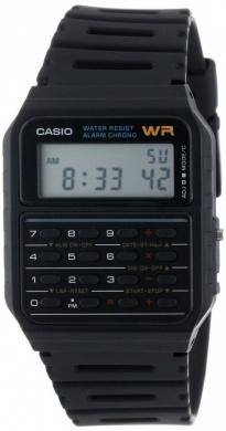 Reloj de pulsera-calculadora clásica Casio CA-53W-1CR