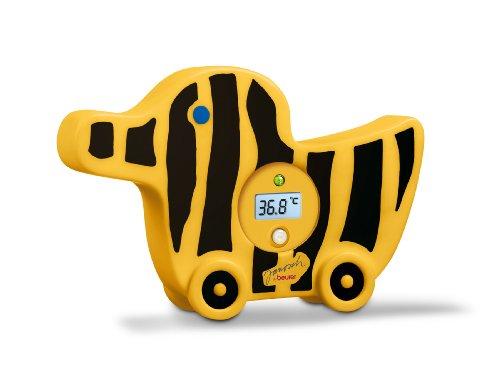 Beurer JBY-08 - Termómetro de baño digital, forma animada para niños, color amarillo y negro