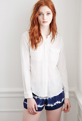 Camisa Algodón Textura