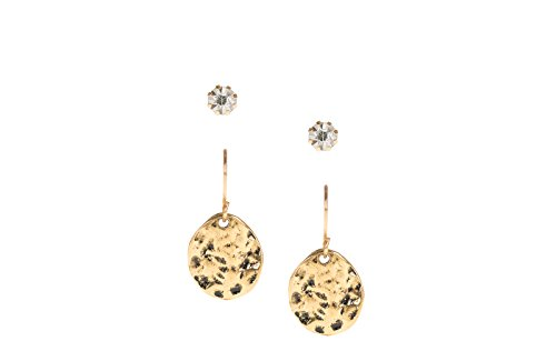 e394f6571fd3 Parfois - Mujer - Set Pendientes Golden Basics - Dorado - Referencia ...