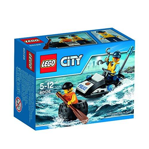 LEGO City - Huida en el neumático, multicolor (60126)