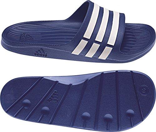 adidas - Chanclas, unisex, color g14309 blau - weiß, talla UK 11 - EUR 46 - 28.5 cm