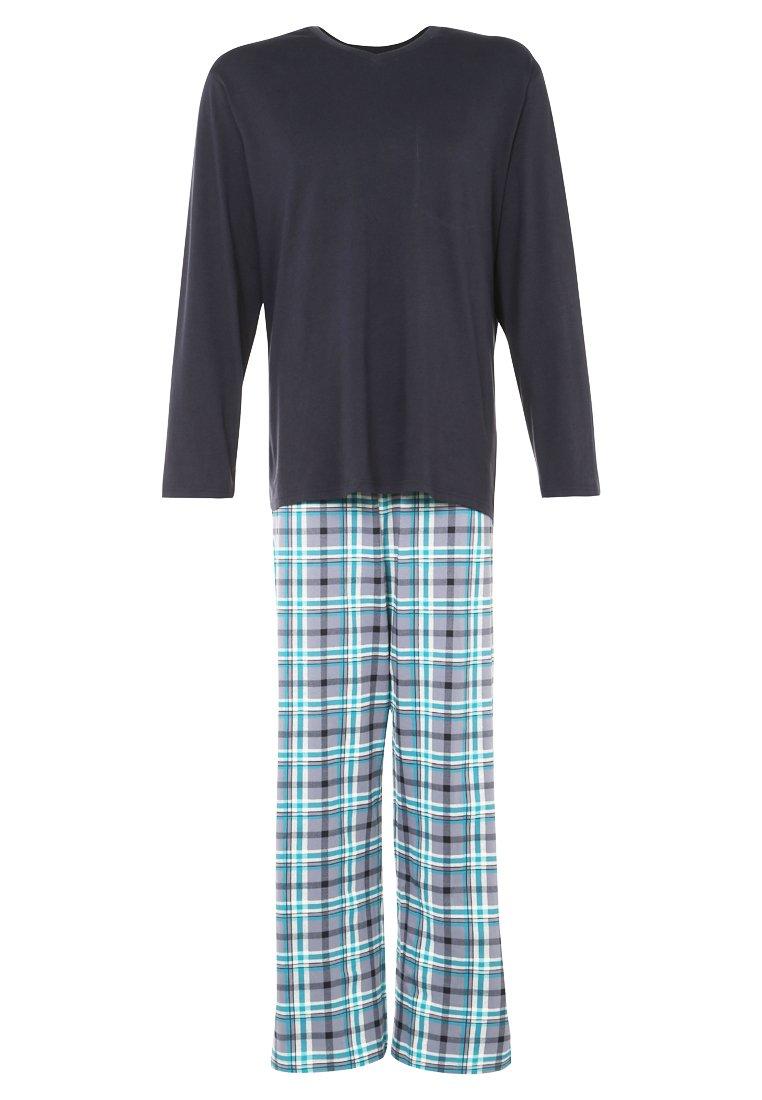 Schiesser SEA Pijama corto dunkelblau