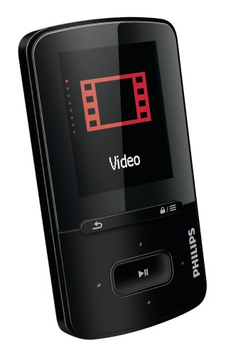 Philips GoGEAR ViBE - Reproductor de MP4 (4 GB, pantalla de 1.8