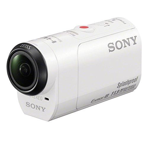 Sony HDR-AZ1 - Action Cam Mini AZ1VR (Wi-Fi, control remoto Live View, kit montaje vestible), blanco