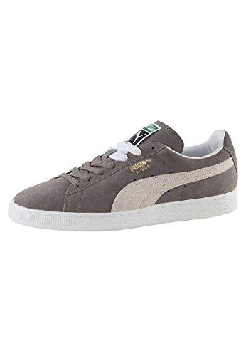 Puma Classic Plus Forever - Zapatillas para mujer, color grey white, talla 46