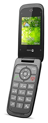 Doro Liberto 650 110g Negro - Teléfono móvil (SIM única, MicroSIM, Despertador, calculadora, calendario, Recordatorio de eventos, Juegos, notas, Ión de litio, 3G, GPRS, GSM, HSDPA, HSUPA, 240 x 320 Pixeles)