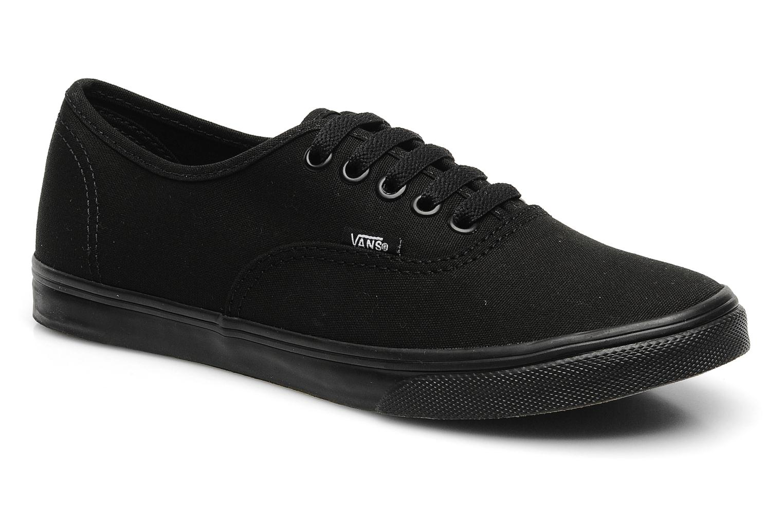 zapatos vans mujer negro