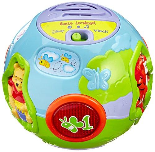 VTech - Juguete educativo, bola colorida Winnie The Pooh (80-106104) (versión en alemán)
