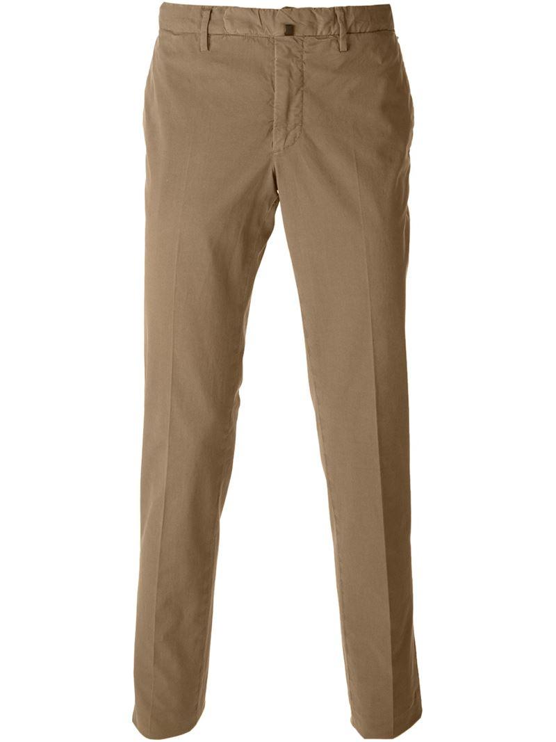Incotex Pantalones Chinos Clásicos