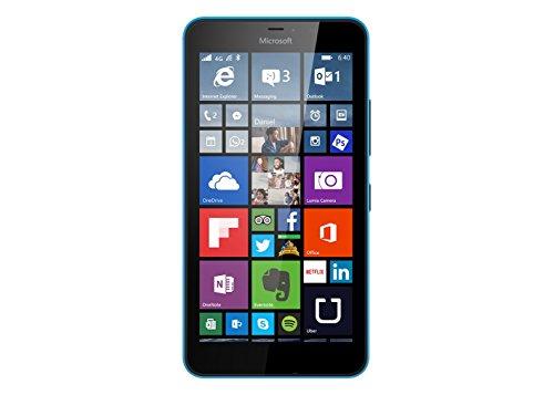 Microsoft Lumia 640 XL - Smartphone libre de 4G (pantalla: 5,7 pulgadas, 8 GB, Dual SIM, Windows Phone 8.1) azul (importado)