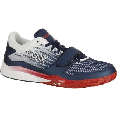 Zapatillas baloncesto adulto Fast 500 azul/blanco/rojo KIPSTA