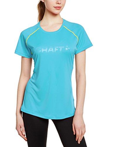CRAFT Craft3drun Prime - Camiseta de running para mujer, color Azul, talla L