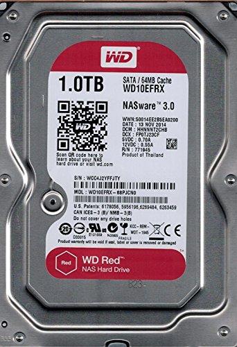 Western Digital Red 1TB SATA 6 Gb/s - Disco duro (Serial ATA III, 1000 GB, 8,89 cm (3.5